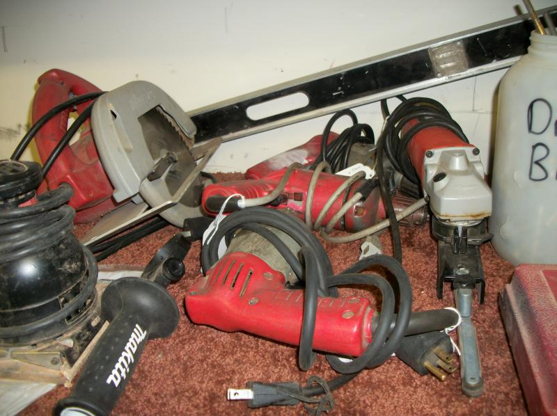Bill Harms Estate Sale Construction Tools Auction